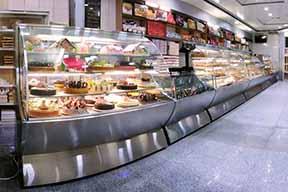 یخچال صنعتی شیرینی فروشی